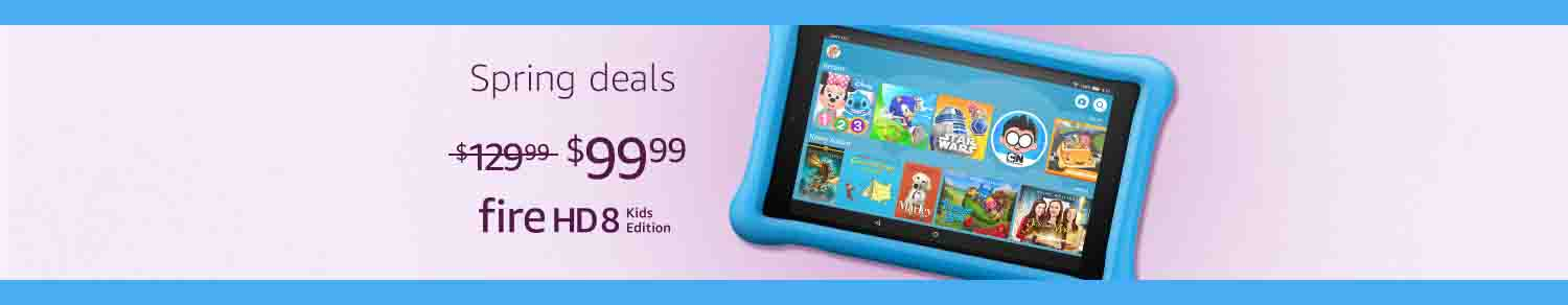 EXTRA $20 OFF SPRING PROMO FOR FIRE KIDS EDITION BY AMAZON