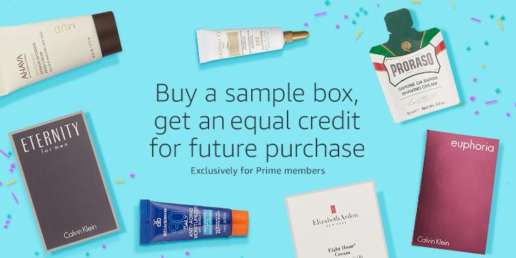Free Amazon Beauty & Health samples