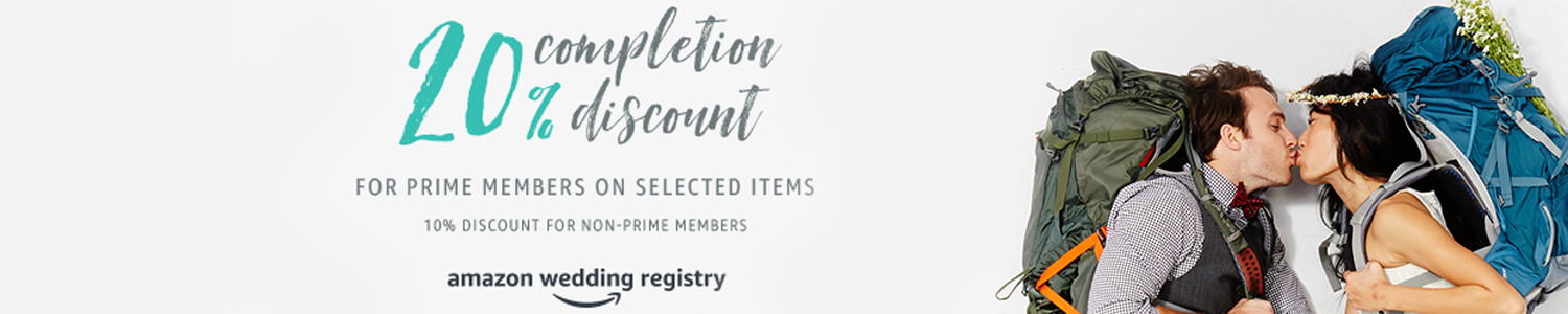 Amazon Wedding Registry Promo Code