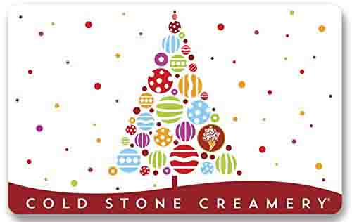 promo code 'COLD10' on spending of $50 Cold Stone Creamery gift cards