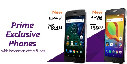 - off promo on Amazon Prime exclusive phones