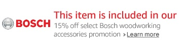 Extra off spring promo on Bosch tools & extra 15% discount
