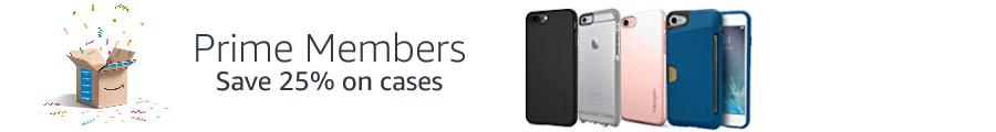 25% off phone cases