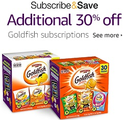 extra 30% off Pepperidge Farm Goldfish Variety Pack