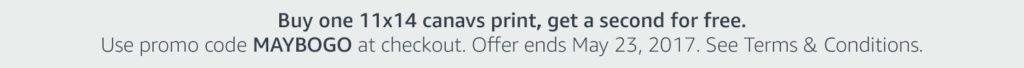 Amazon Prints promo code