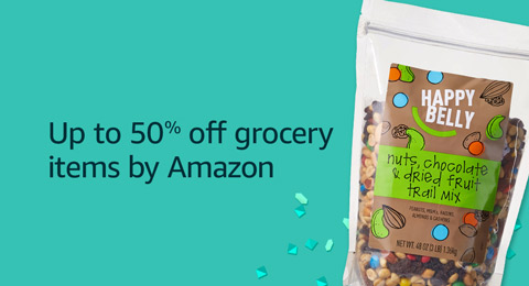 50% off grocery items