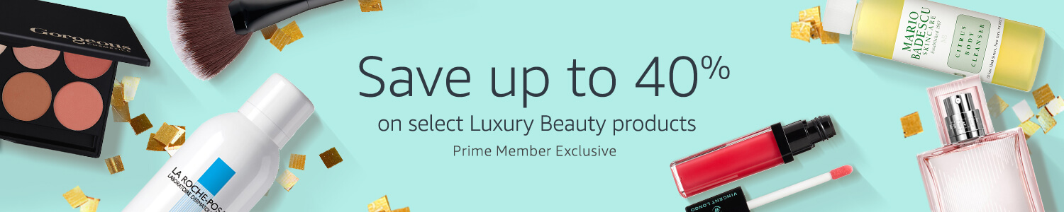 40% off luxury beauty