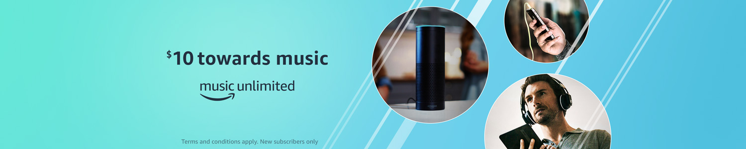 Promo code 'MOREMUSIC' to get $10 free on Amazon Music Unlimited