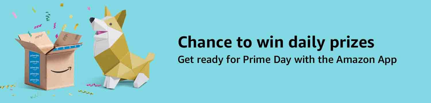 Daily giveaway through the Amazon App on Prime Day 2018