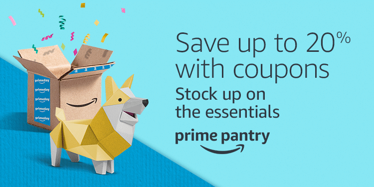 20% off Prime Pantry promo coupons