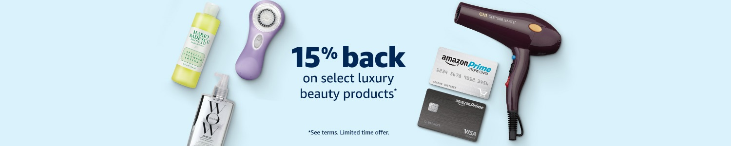 Extra 15% off promo code for Amazon Luxury Beauty