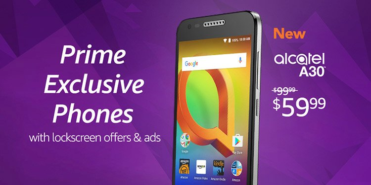 promo on Prime exclusive phones