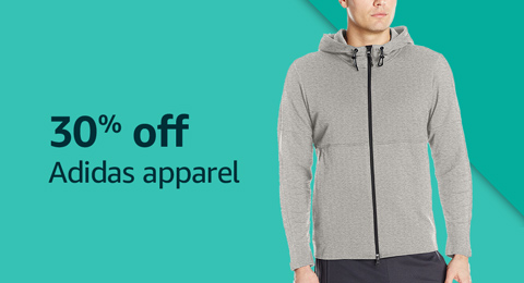 30% off Adidas apparel