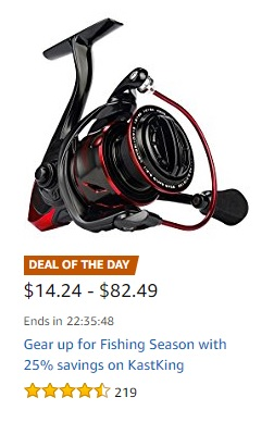 gear up on promo for a fishing trip with Amazon fishing deals