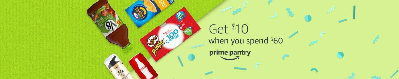 Prime Day $10 off $60 Prime Pantry
