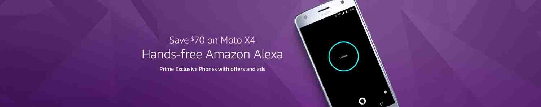 promo on Amazon exclusive phones