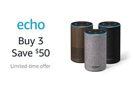 save $50 with promo code ECHO3PACK