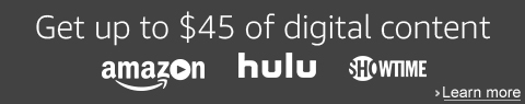 up to $45 off promo on digital content whenpurchase and activate an All-New Fire TV