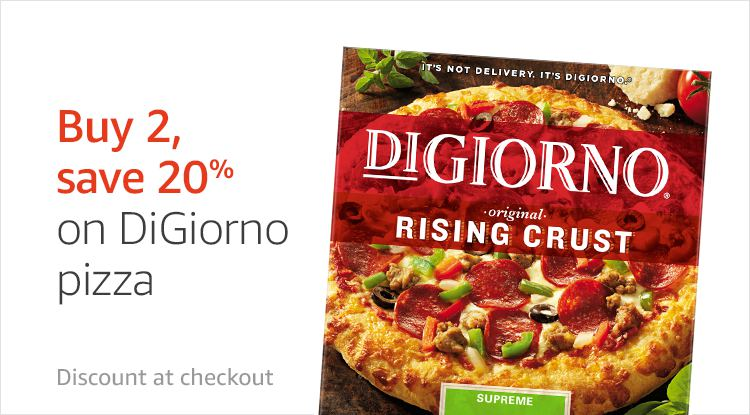 Promo on DiGiorno items to Amazon Prime Member