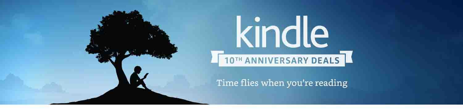 What promos on Amazon Kindle 10th anniversary deal