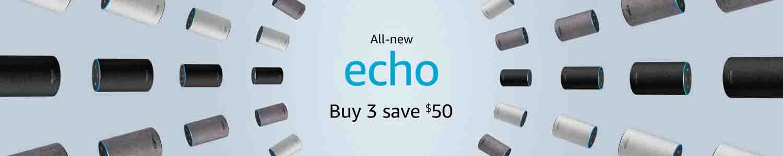 Promo code 'ECHO3PACK'