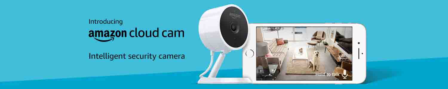 Promo codes for Amazon Cloud Cam Indoor Security Camera