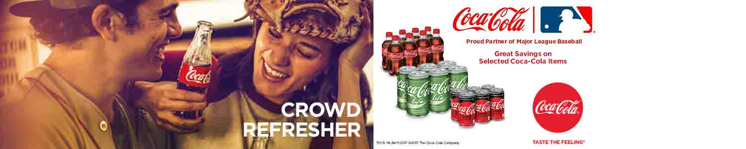 Save 20% on Coca-Cola crowd favorites
