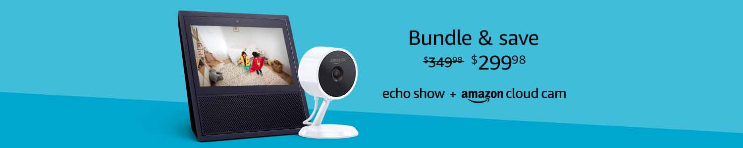 promo codes for Echo Show and Amazon Cloud Cam