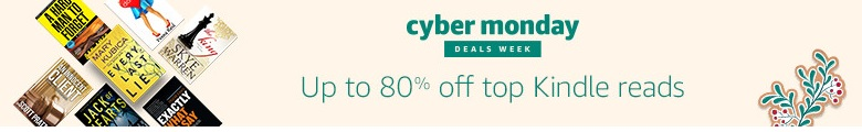 Cyber Monday 80% off top Kindle reads
