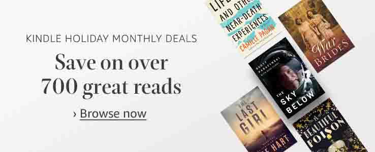 Black Friday deals on kindle books
