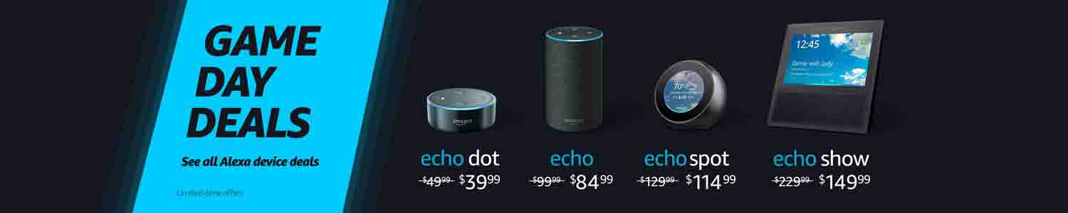 Echo devices announced with promo codes