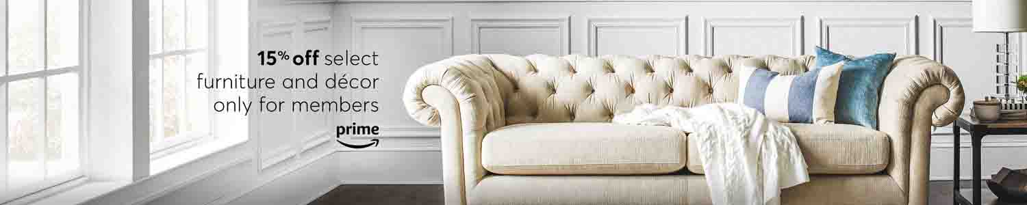 Extra 15% Off Furniture And Décor Cyber Monday Promo