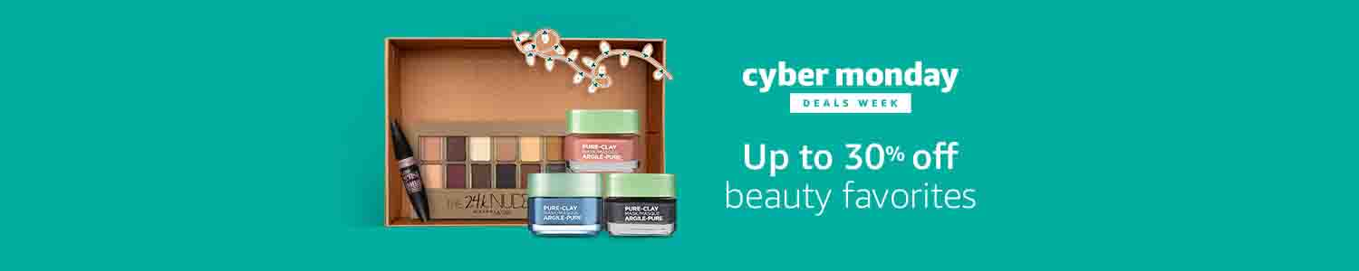 Cyber Monday extra 30% off beauty products