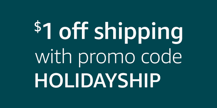 Amazon Pantry $1 off shipping promo code 'HOLIDAYSHIP'