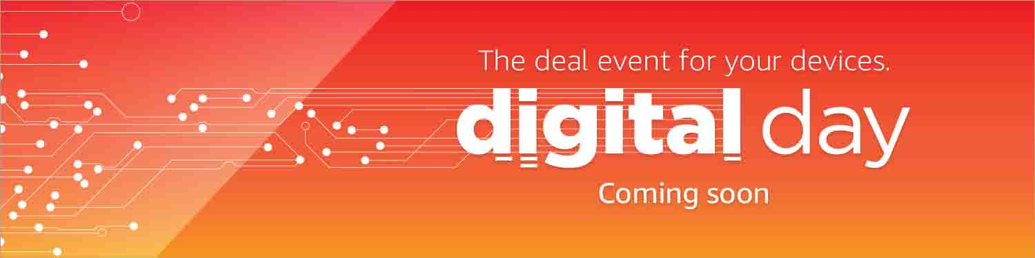 80% off in promo event of the second annual Amazon Digital Day