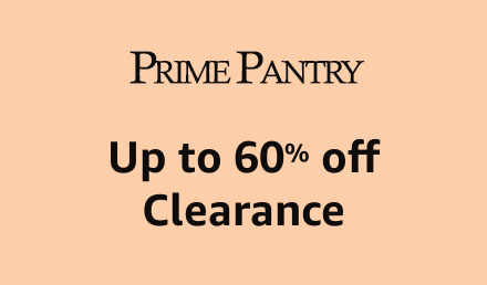 Prime Pantry clearance promos for Amazon Prime Member