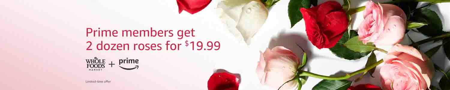Extra 20% off promo coupon on Whole Trade Roses