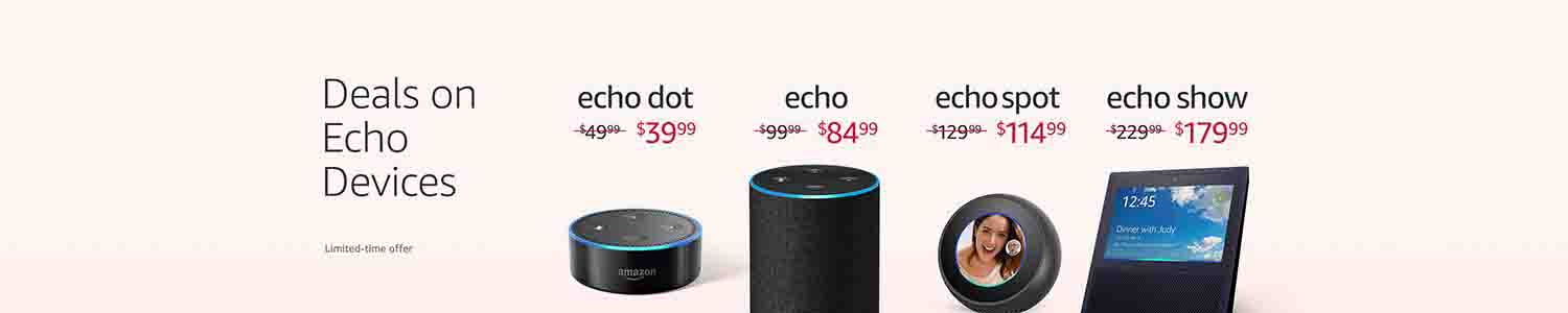 6 all-new Echo devices announced with promo codes