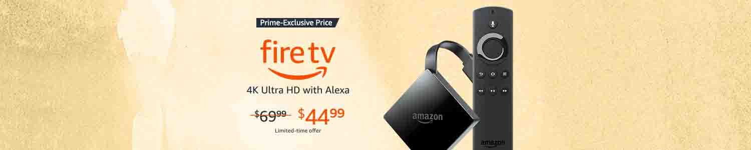 Extra $25 off all-new Fire TV exclusively for Amazon Prime Member