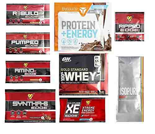 Free Optimum Nutrition sample box to Amazon Prime Member