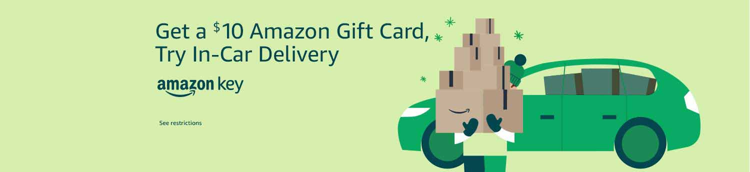 Amazon Key and more details for this free $10 Amazon gift card promo