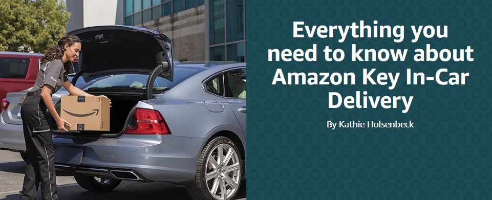 What is Amazon Key In-Car Delivery