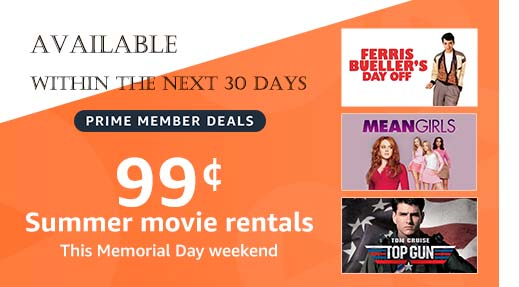 promo for movies & TV shows by Amazon