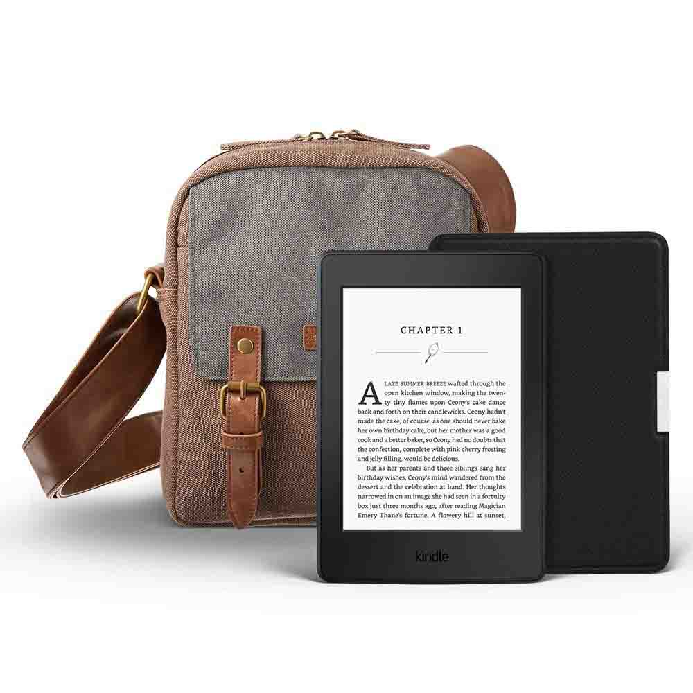 $60 off promo for Amazon Kindle Paperwhite gift bundle