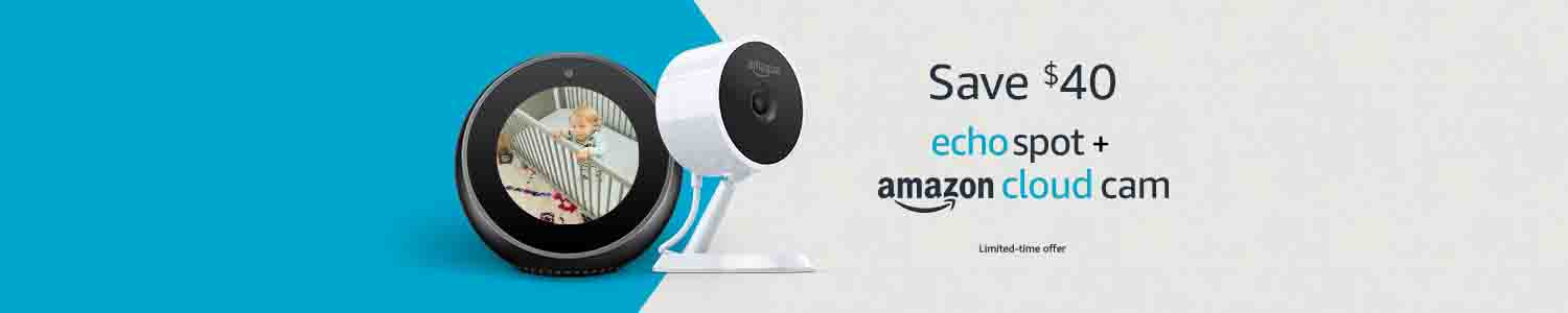 promo for Amazon Cloud Cam Indoor Security Camera