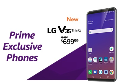 promo on exclusive phones for Amazon Prime Member