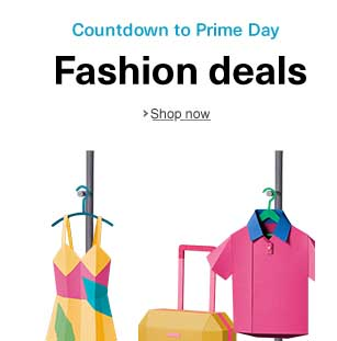 Prime Day 30% off clothing/shoes for the Amazon shopping spree