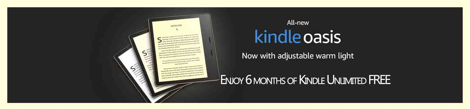 Free 6 months of Amazon Kindle Unlimited with the purchase of all-new Kindle device