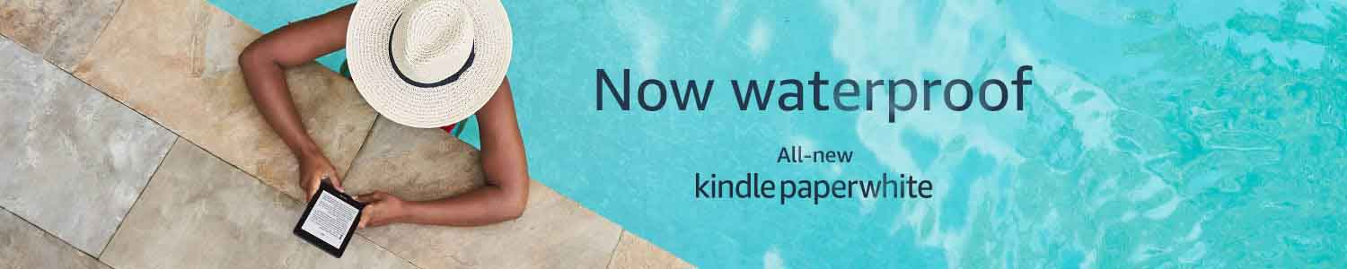 Free 6 months of Amazon Kindle Unlimited with the purchase of all-new Waterproof Kindle Paperwhite