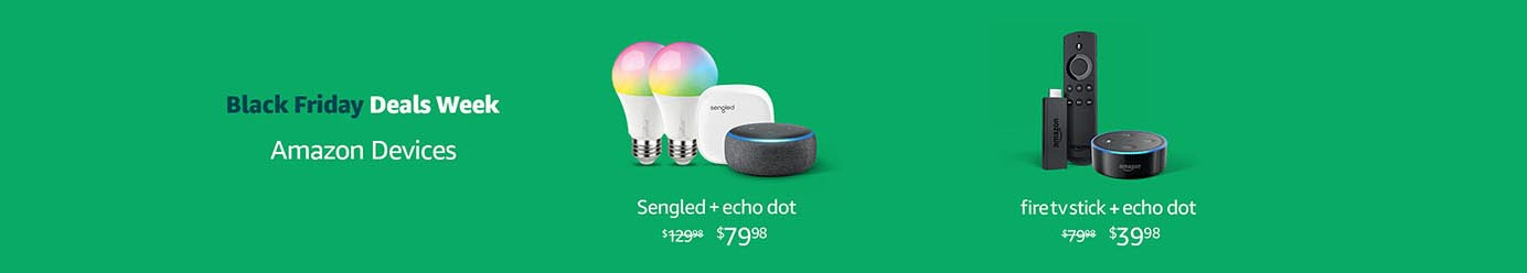 The most benefits of Echo devices on Amazon Black Friday Deals Week